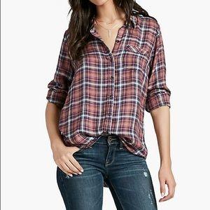Lucky brand Hayden bungalow plaid shirt